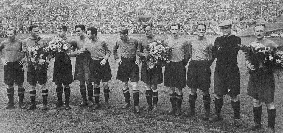 Матч Спартак - ЦДКА 1949