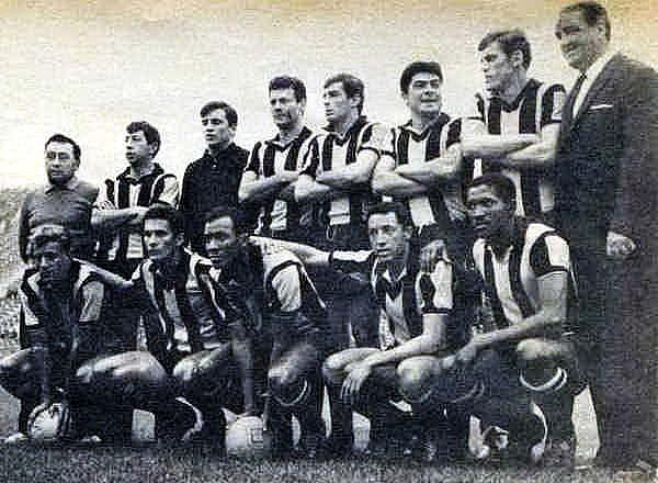Легендарная команда «Пеньяроль» образца 1966 года