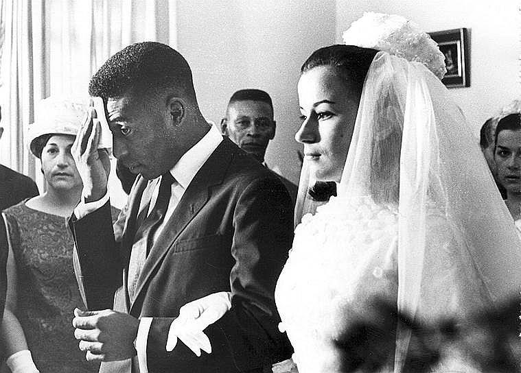 Свадьба Роземери и Пеле