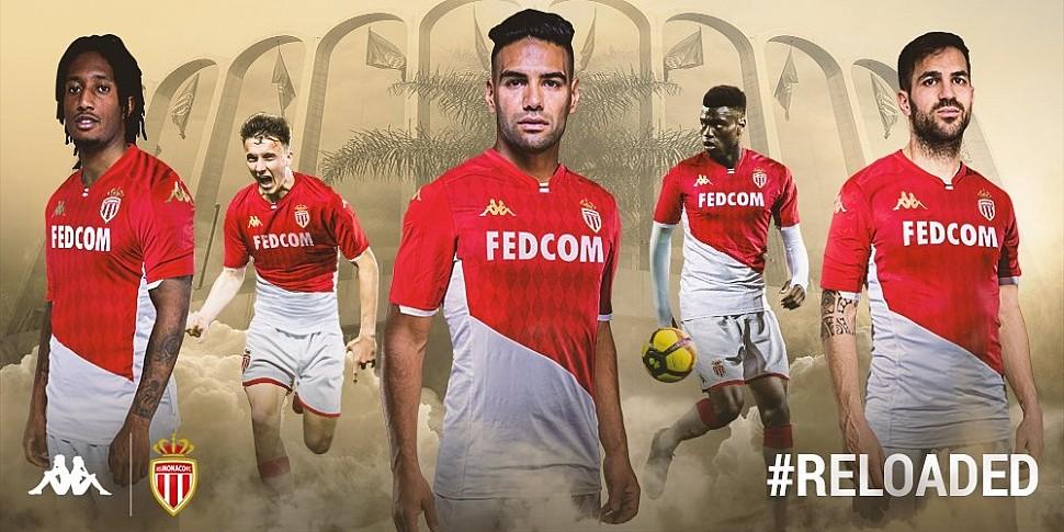 Новая домашняя форма Монако 2019/2020
