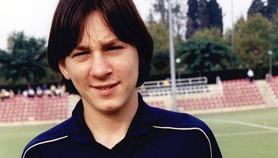 Лионель Месси 2001 год