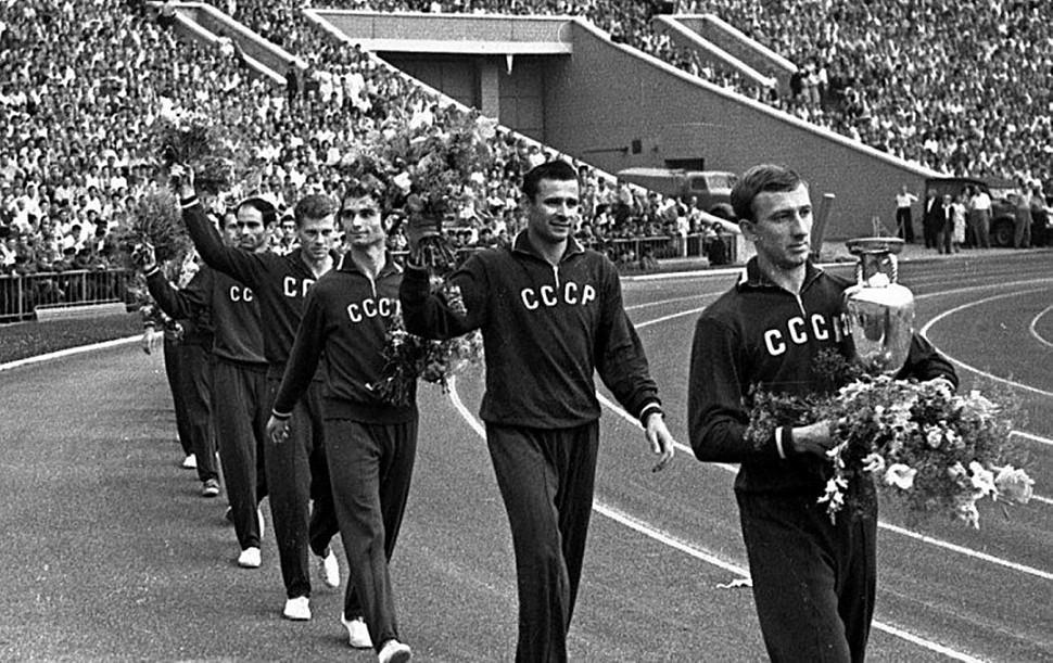 Сборная СССР Кубок Европы 1960