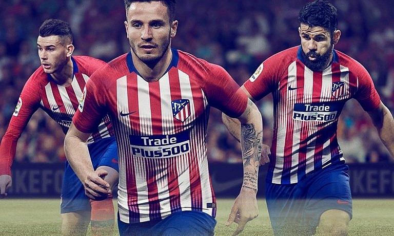 Новая домашняя форма Атлетико Мадрид 2018 2019