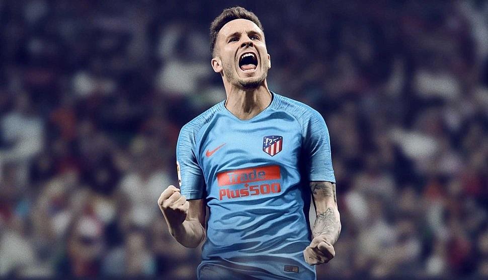 Новая гостевая форма Атлетико Мадрид 2018 2019