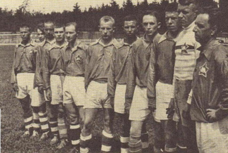 ЦДКА на Чемпионате СССР 1936 год